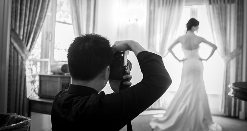 Le mariage en images: la chasse au photographe