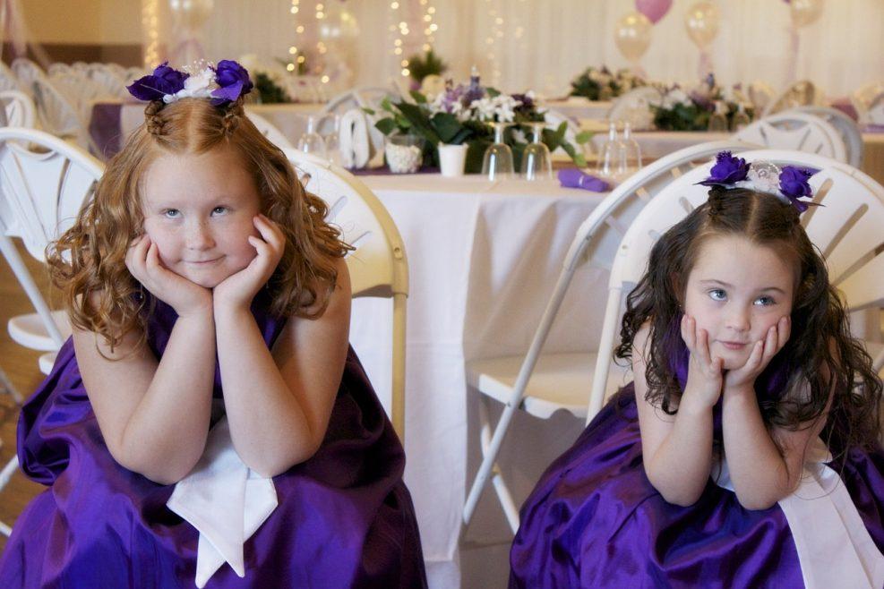 Comment occuper les enfants le jour de votre mariage?