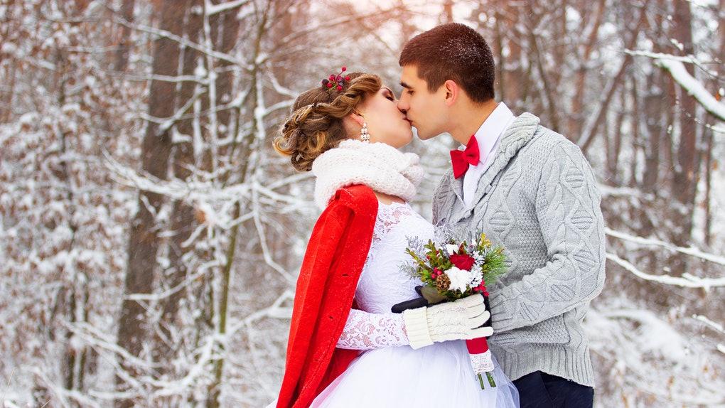 Quelle robe de mariée pour un mariage en hiver?