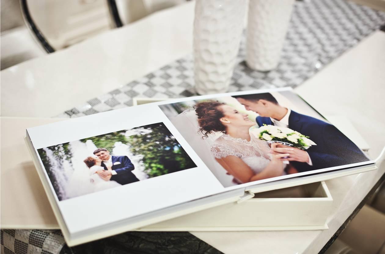 livre photo pour offrir ses photos de mariage à ses proches
