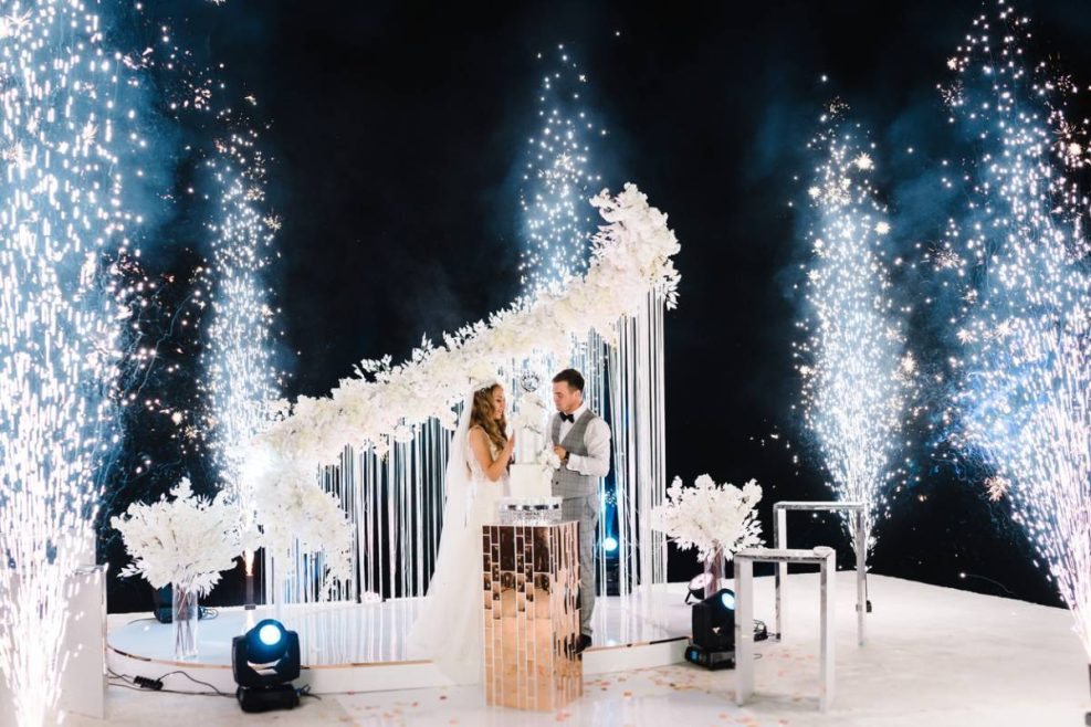 Quelles animations pyrotechniques pour un mariage ?