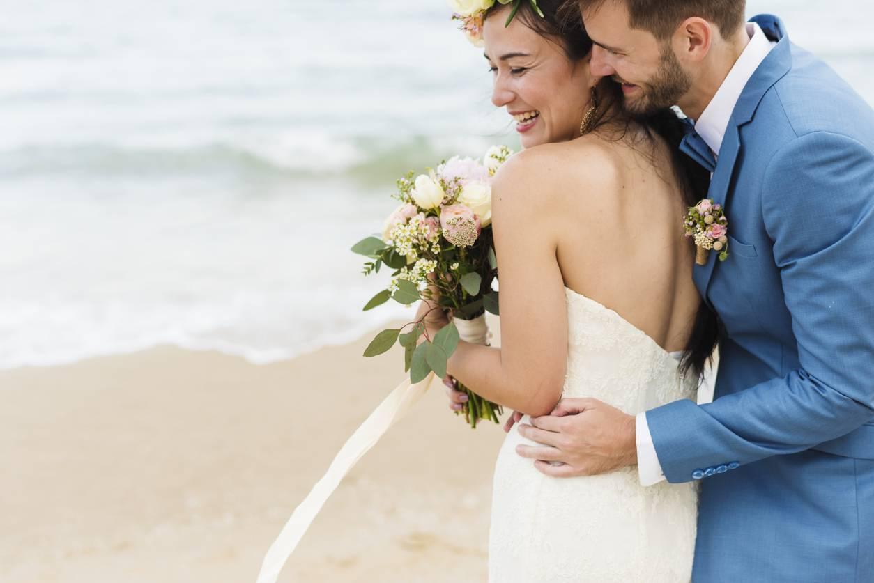 photos de mariage photographe plage